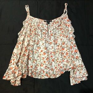 Floral Forever 21 Top